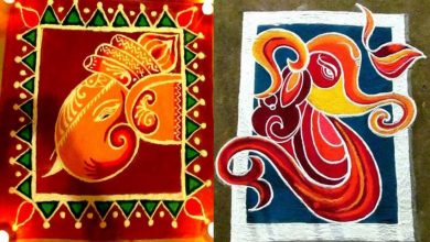 Photo of 44 Ganesh Rangoli Designs and Ideas That You Should Try This Diwali