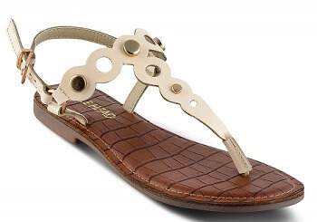 SOLE HEAD Beige Flats Women Sandal