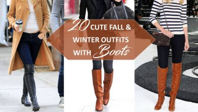 Photo of 20 CUTE FALL & WINTER OUTFITS WITH BOOTS ( WITH DO'S AND DON'T )