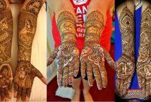 Photo of 15 Stunning Dulha-Dulhan Mehndi Designs If You Love Intricate Motifs