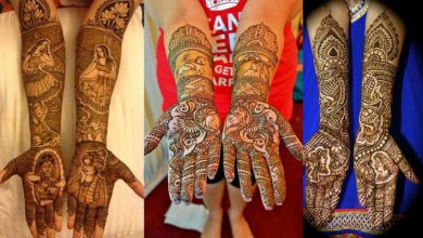 Photo of 15 Stunning Dulha-Dulhan Mehndi Designs If You Love Intricate Motifs
