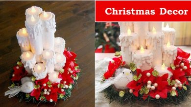 Photo of Creating Fabulous Holiday Decor from Paper Towel Rolls    Christmas Decor