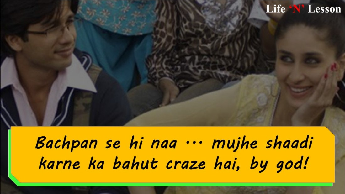 slide4Jab We Met Dialogues