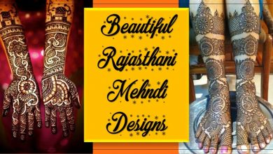 Photo of Beautiful Rajasthani Mehndi Designs