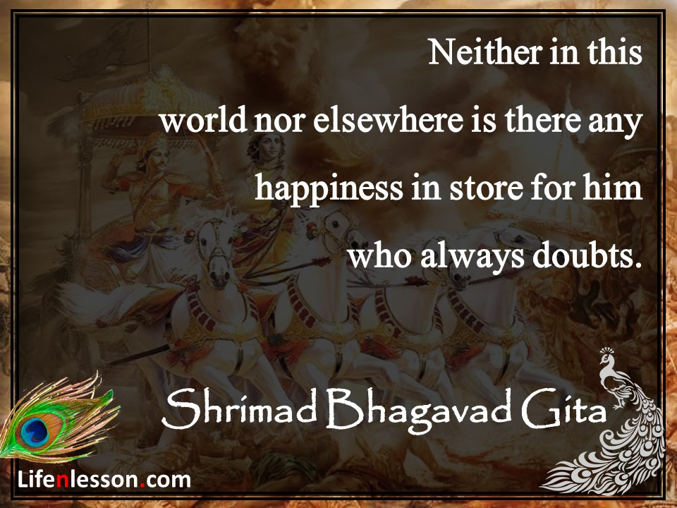 Préférence 34 Inspirational Quotes From Bhagavad Gita That are Totally  FI35