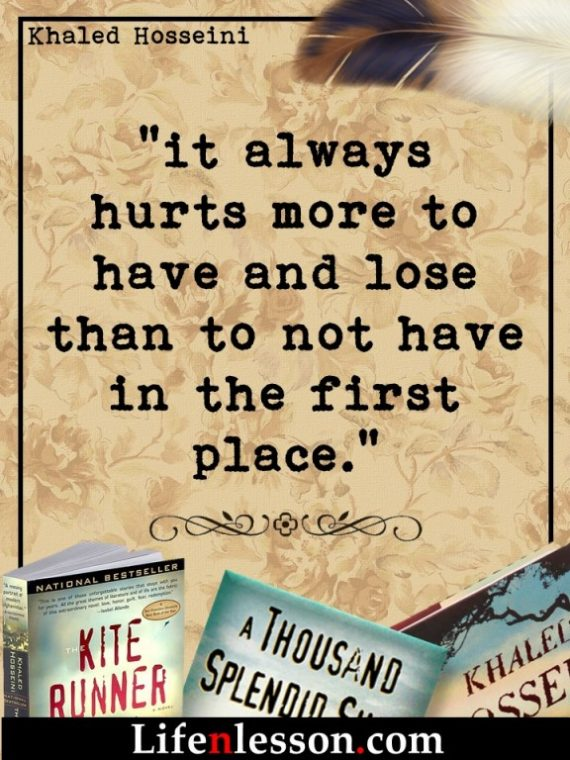 Khaled Hosseini Quotes