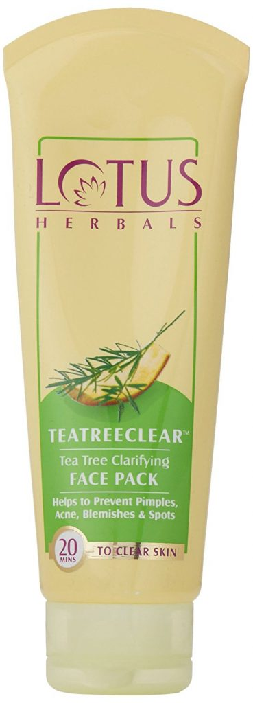 Lotus Herbals Tea Tree Clear Clarifying Face Pack