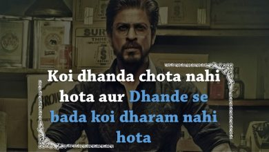 Photo of These are the Best Dialogues and Quotes from the Movie Raees