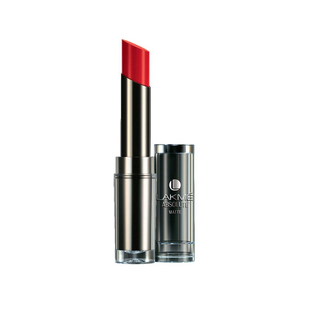 Lakme Absolute Matte CL, 3.7 g, Red Rush