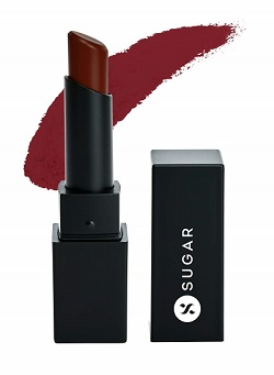 SUGAR Cosmetics Longwear Lipstick, Cloud Wine