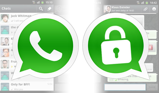 whatsapp security system