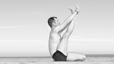 Photo of How To Do Heron Pose And What Are Its Benefits : Krounchasana