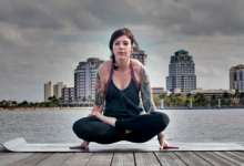 Photo of How To Do Scale Pose And What Are Its Benefits : Tolasana