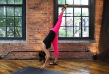 Photo of How To Do Standing Split And What Are Its Benefits : Urdhva Prasarita Eka Padasana