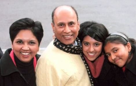 Indra Nooyi wit.jpg her family
