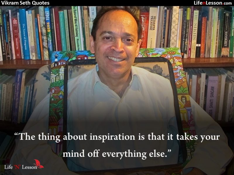 Vikram Seth Quotes