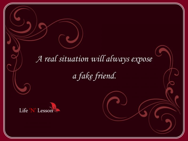 Fake friend Quotes