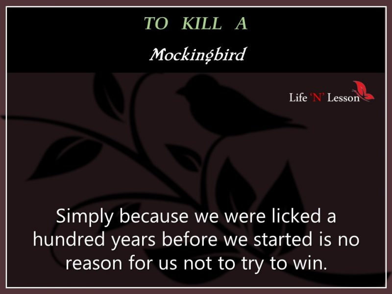 Mockingbird Quotes