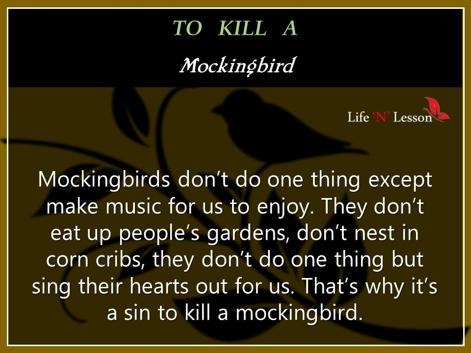 "how is the poem i too sing america related to the them of to kill a mockingbird What does it mean ""to kill a mockingbird but sing their hearts out for us migration and belonging in a changing world, eyes on the prize: america's civil."