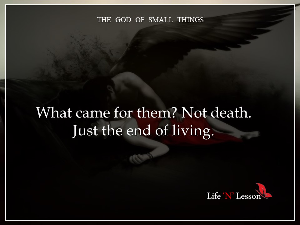the god of small things Buy the god of small things epub edition by arundhati roy (isbn: 9780006550686) from amazon's book store everyday low prices and free delivery on eligible orders.