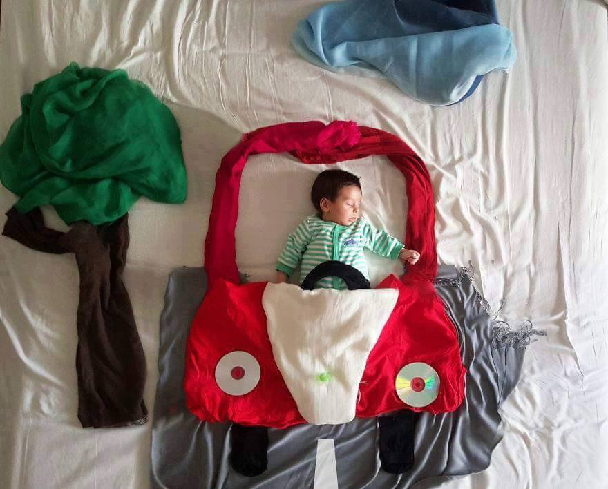 Creative Baby Photoshoo