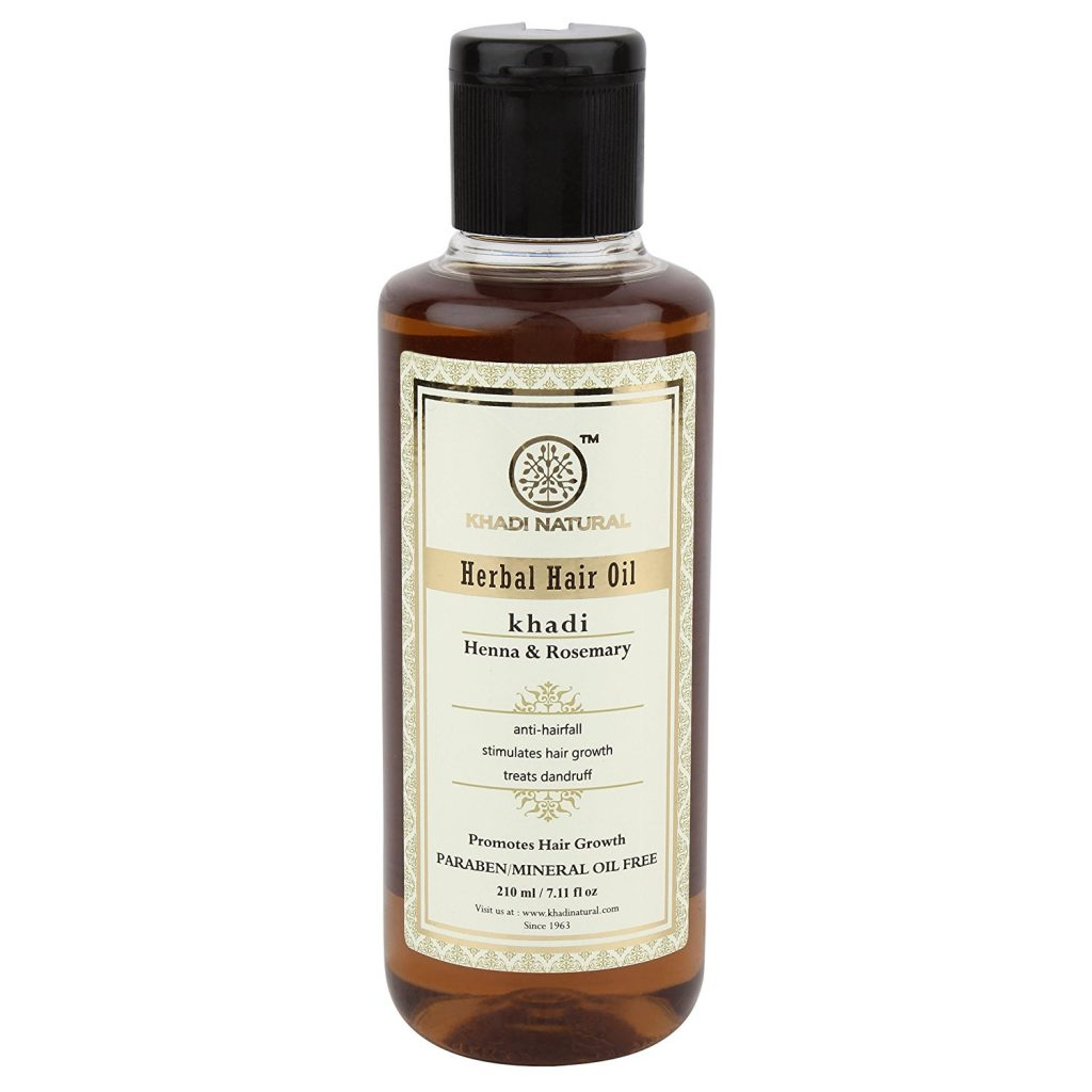 Khadi Ayurvedic Hair Oil- Rosemary & Henna
