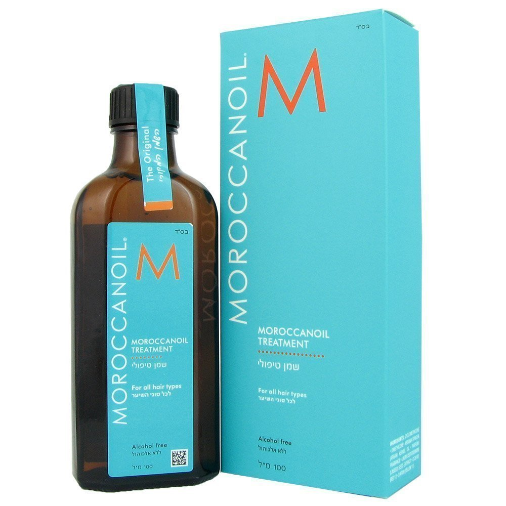 Moroccan Oil Hair Treatment Bottle with Green Box