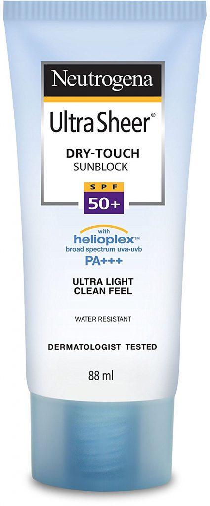 Neutrogena Ultra Sheer Dry Touch Sunblock SPF 50+