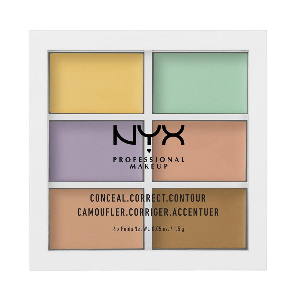 Nyx Professional Makeup Conceal, Correct and Contour Palette