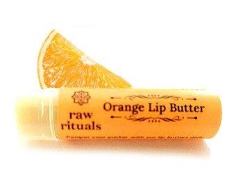 Raw Rituals Orange Lip Balm