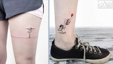 Photo of The Adorable creation Of Tattoos with Characters and Scenes by A Former Cartoonist