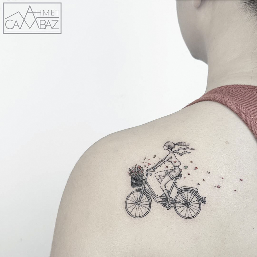Ahmet Cambaz Tattoos