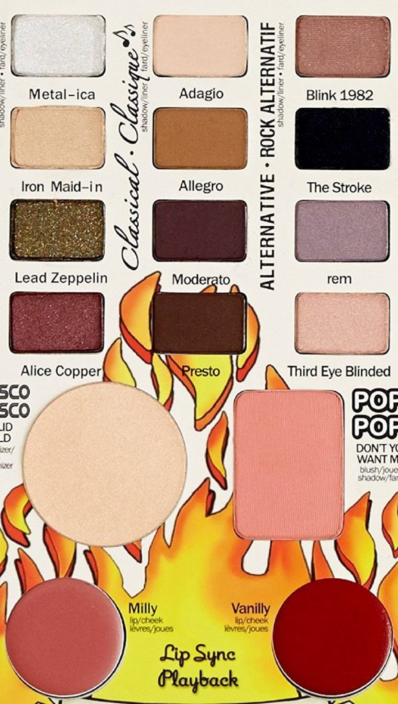 ADS Balm Jovi Rockstar Face Palette