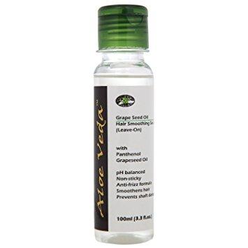 Aloe Veda Grape Seed Oil Smoothing Hair Serum