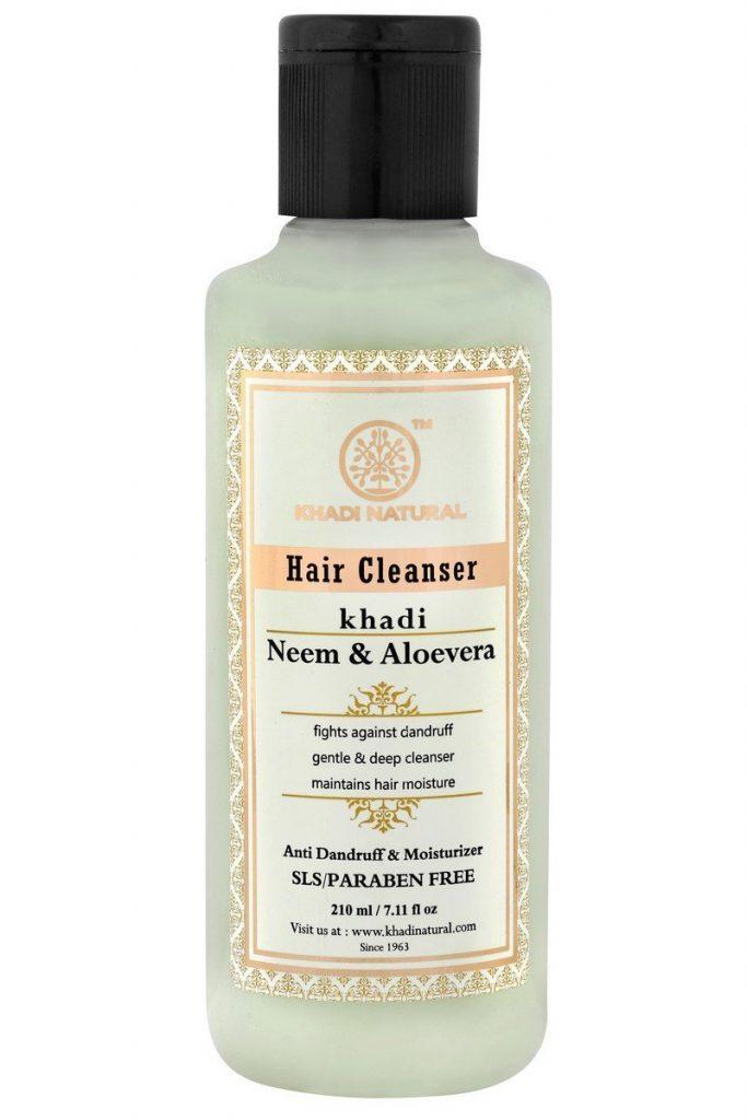 Khadi Neem and Aloevera Herbal Shampoo