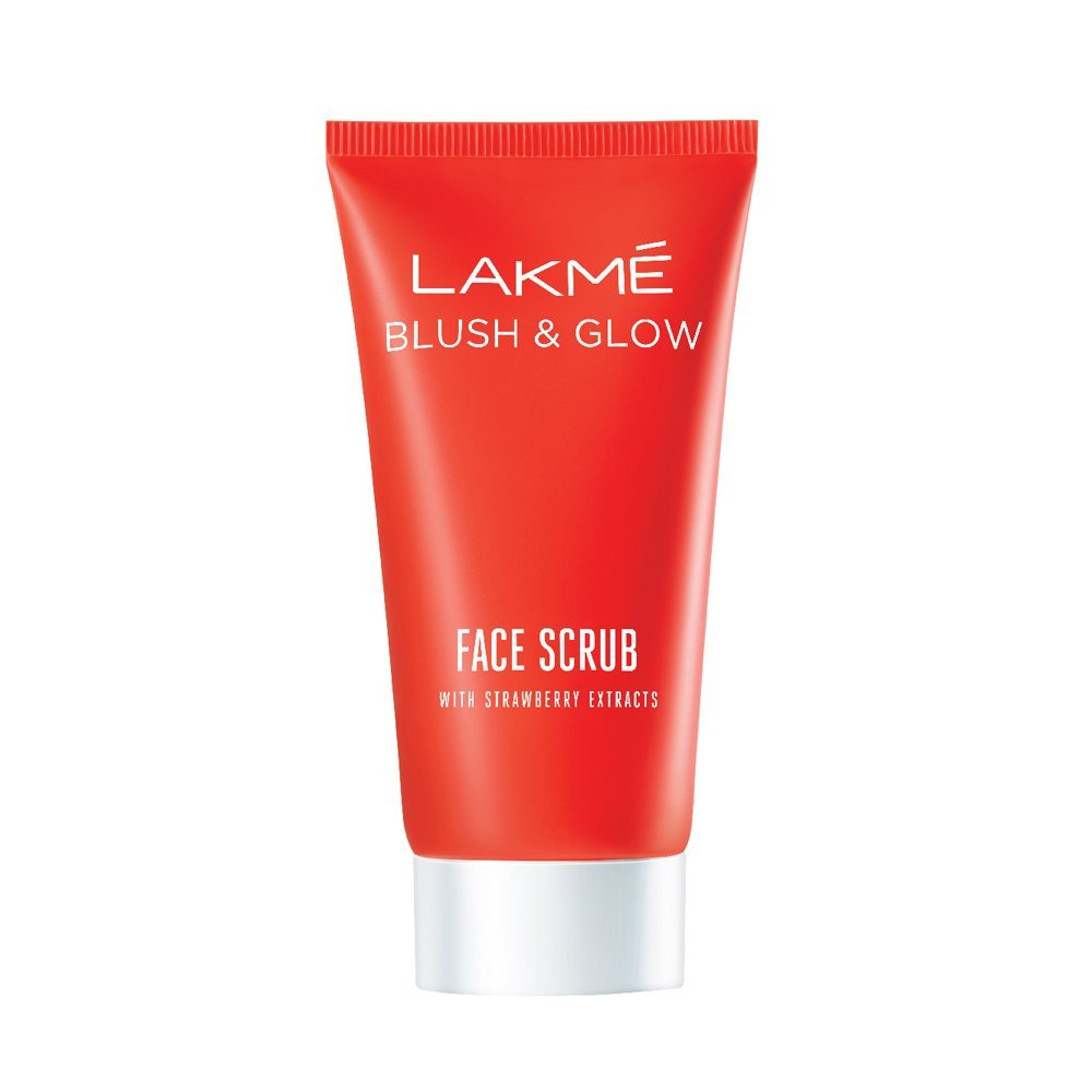 Lakme Blush & Glow Strawberry Face Scrub