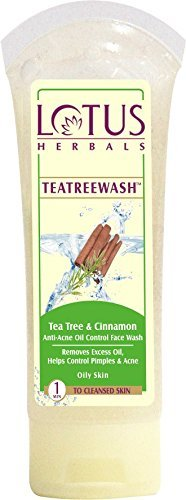 Lotus Herbals Tea Tree and Anti-Acne Face Wash