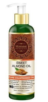 Morpheme Remedies Cold Pressed Sweet Almond Oil