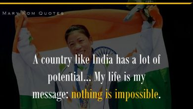Photo of These Quotes by Mary Kom Tell Us Why She Is A Real Inspiration To All of Us