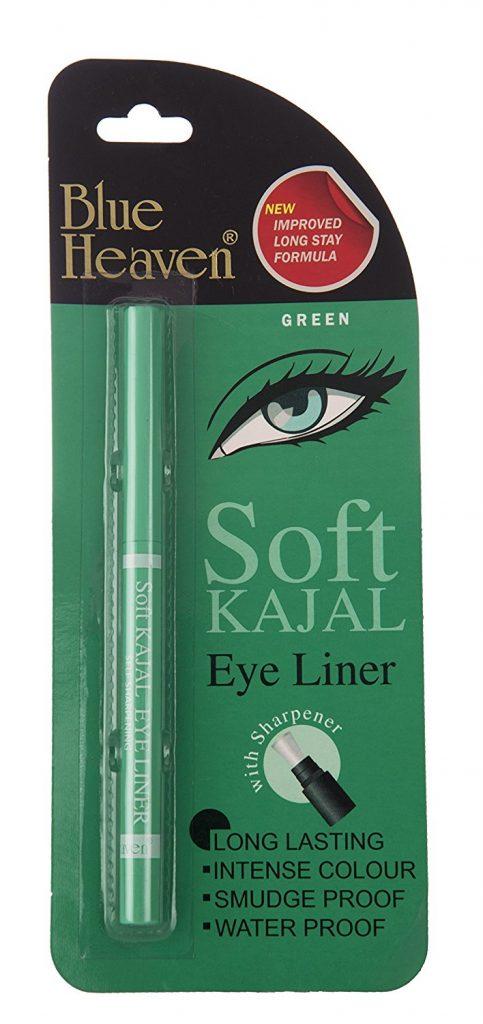 Blue Heaven Soft Kajal Eyeliner, Green