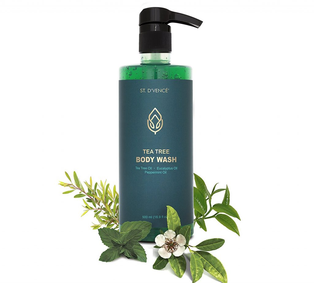 ST. D'VENCE Tea Tree Oil Body Wash
