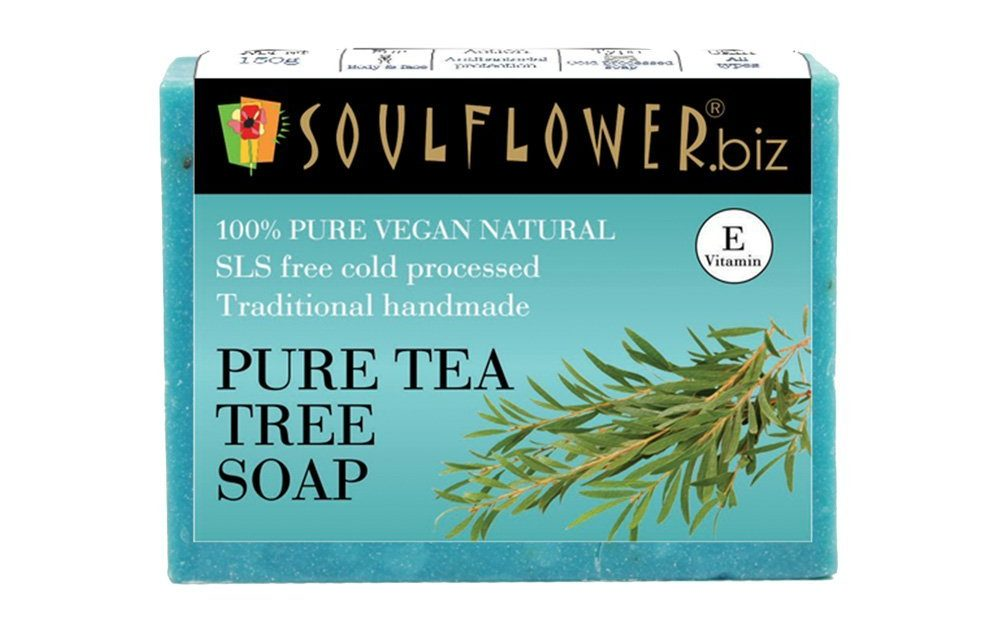 Soulflower Handmade Soap, Tea Tree