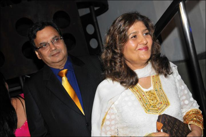 Subhash Ghai with his wife