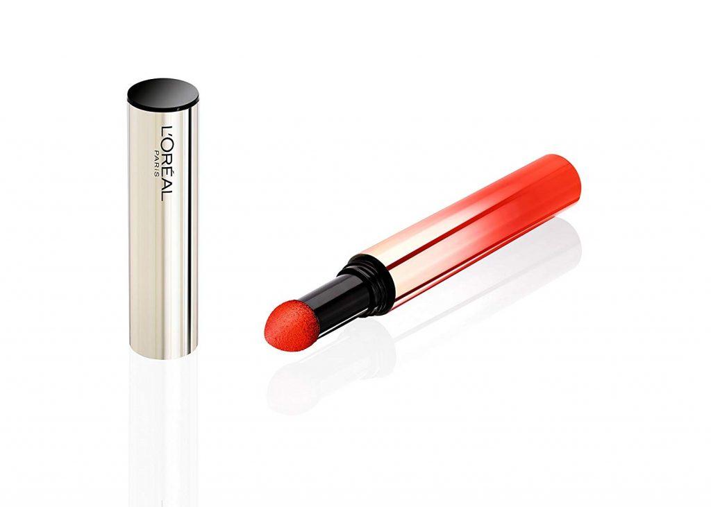 L'Oreal Paris Tulip Blossom Tint Caresse Lipstick, Orange