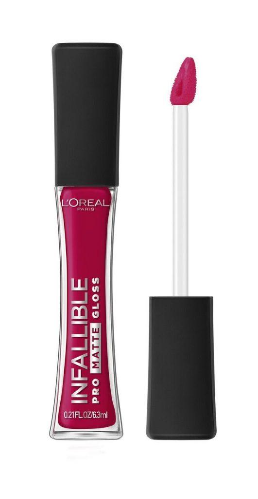 L'Oreal Paris Infallible Pro Matte Lip Gloss- Rouge Envy