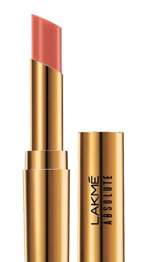 Lakme Absolute Argan Oil Lip Color, Soft Nude