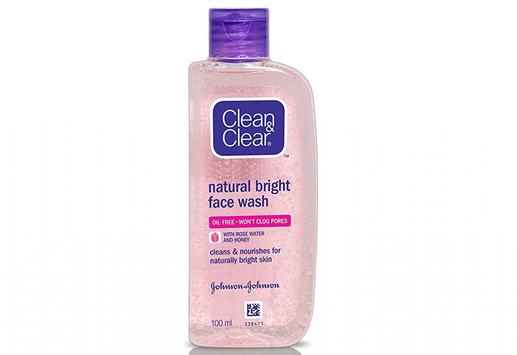 Clean & Clear Natural Bright Facewash