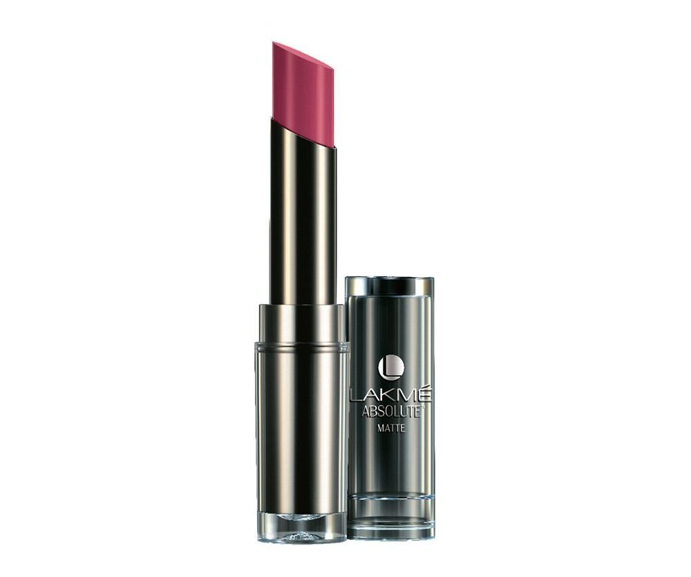 Lakme Absolute Matte Lipstick, Mauve Fix