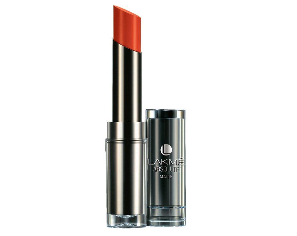 Lakme Absolute Matte Lipsticks, Tangrine Lush