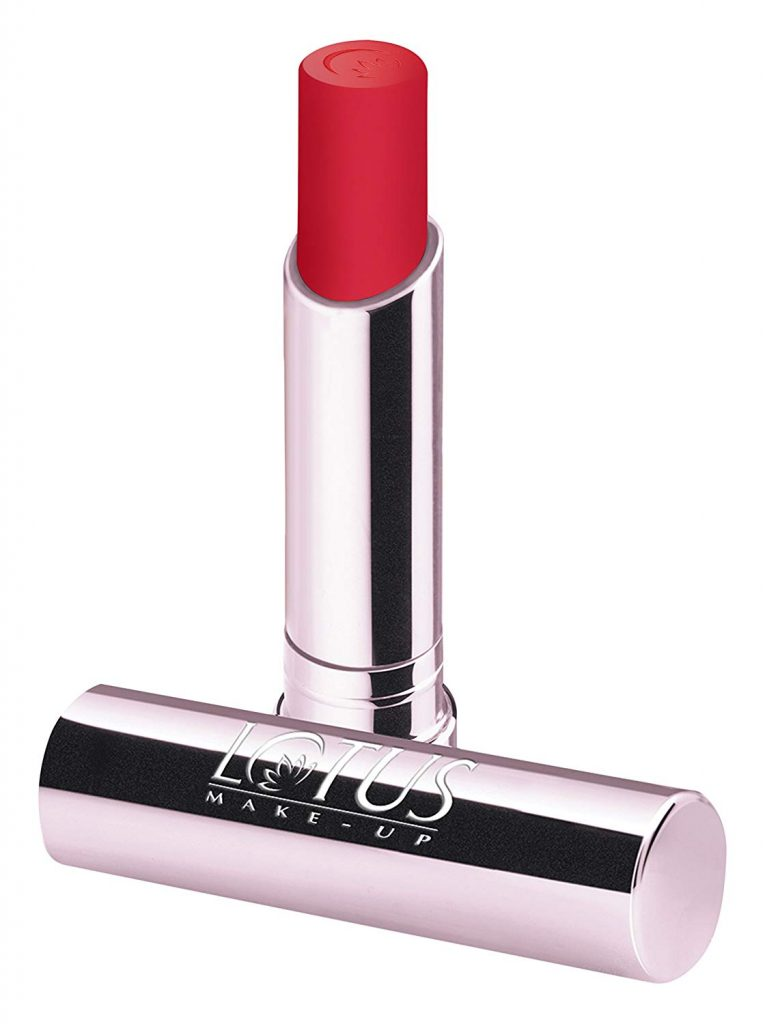 Lotus Makeup Ecostay Long Lasting Lip Color, Rose Spell